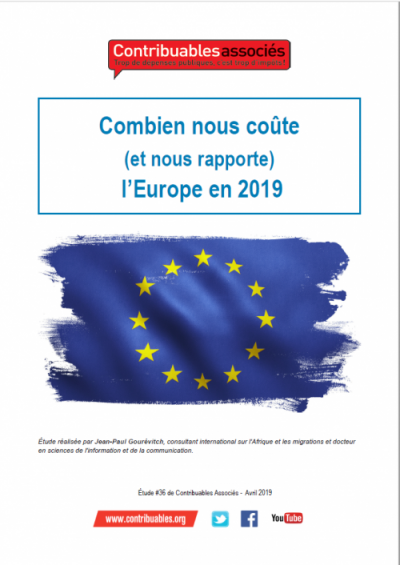 Etude n°36 : Combien nous coûte (et nous rapporte) l'Europe ?   Image