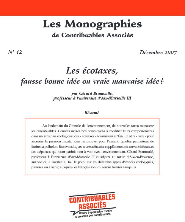 Monographie n°12