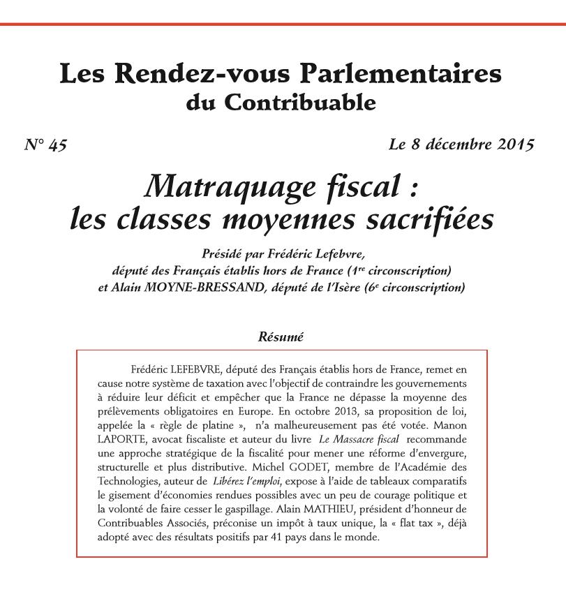 Les Rendez-vous Parlementaires n°45