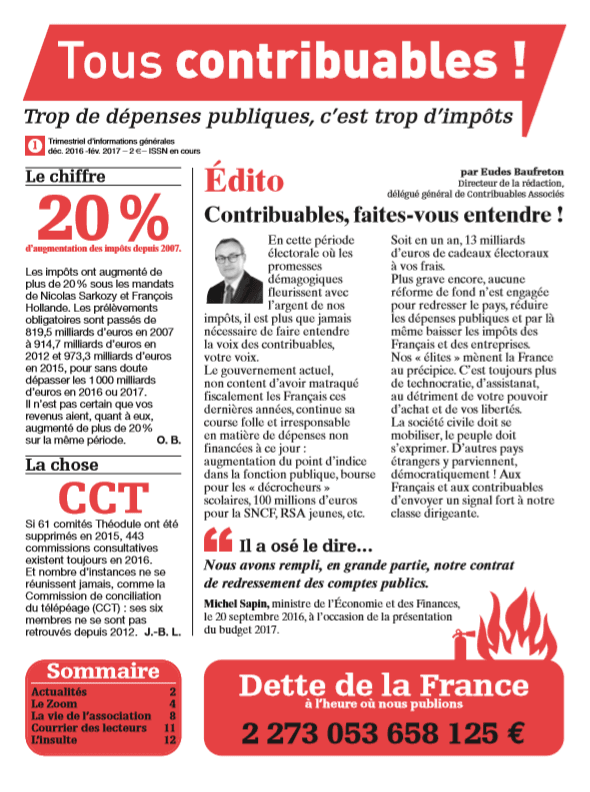 Tous contribuables ! N°1