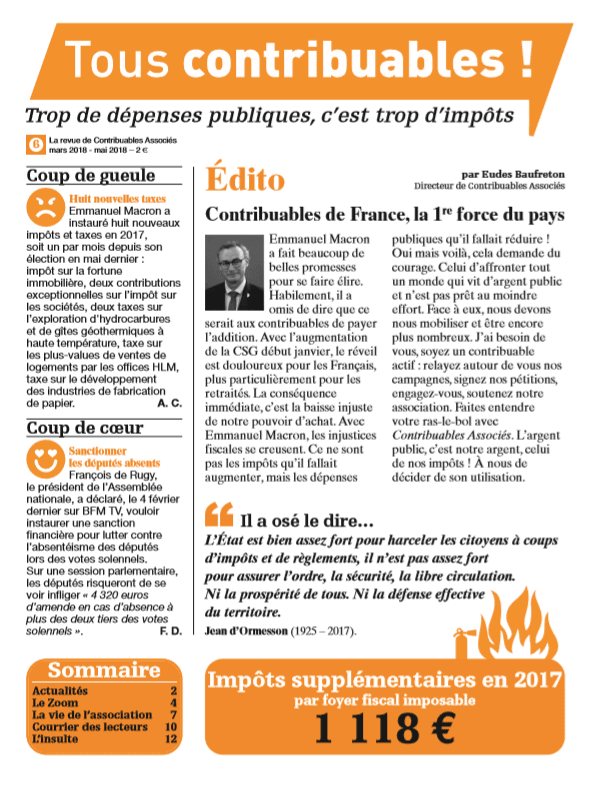Tous contribuables ! N°6