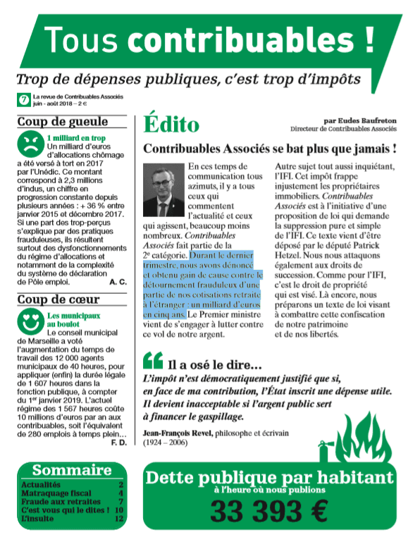 Tous contribuables ! N°7