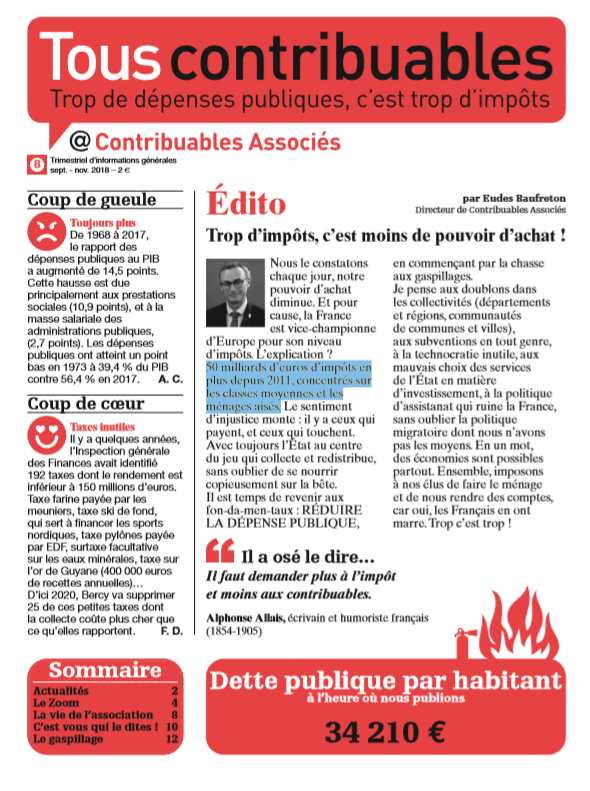 Tous contribuables ! N°8